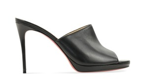 Christian Louboutin Pigamule Pigalle Pumps black Mules