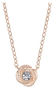 Kate Spade infinity and beyond knot necklace