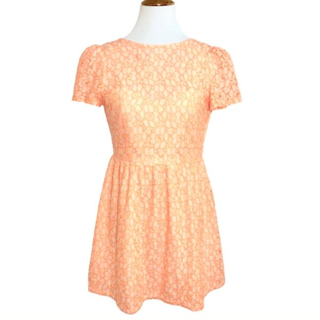 MM Couture short dress Cream Coral on Tradesy Image 1