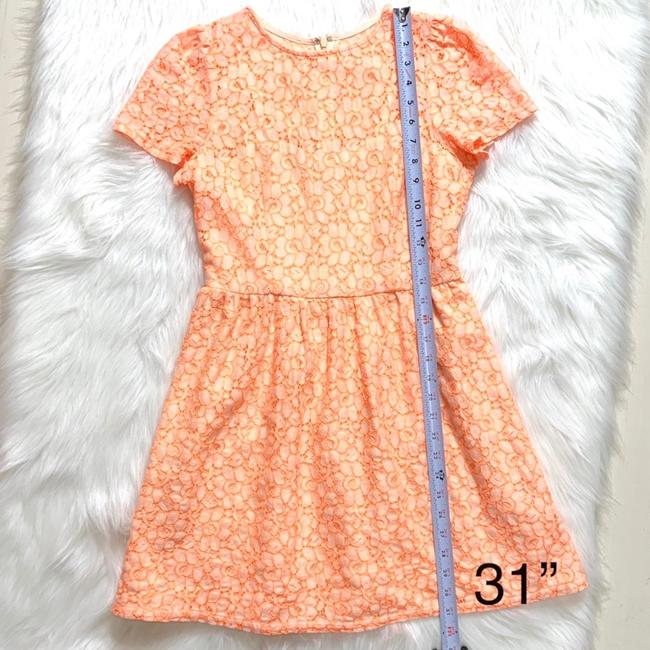 MM Couture short dress Cream Coral on Tradesy Image 7