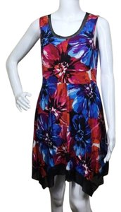 Cable & Gauge short dress Red, Blue, Black on Tradesy