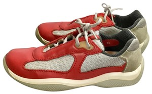 Prada Red and gray Athletic