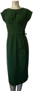 Stop Staring! Fitted Midi 30ies Stretchy Pencil Dress