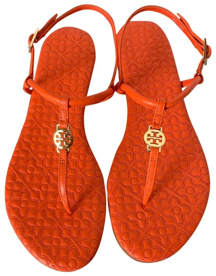 Preload https://img-static.tradesy.com/item/25689071/tory-burch-poppy-coral-bryant-quilted-sandals-size-us-75-regular-m-b-0-1-540-540.jpg