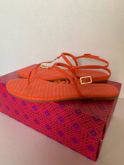 Tory Burch Poppy Coral Sandals Image 3