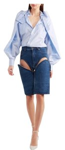 Y/Project Cut Off Shorts Blue