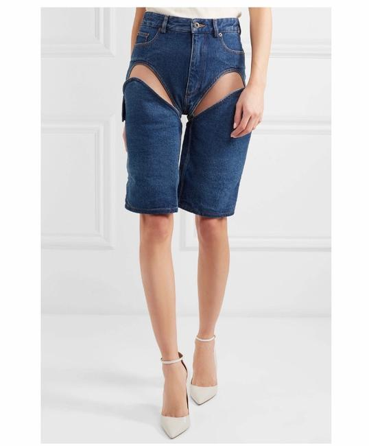 Y/Project Cut Off Shorts Blue Image 1