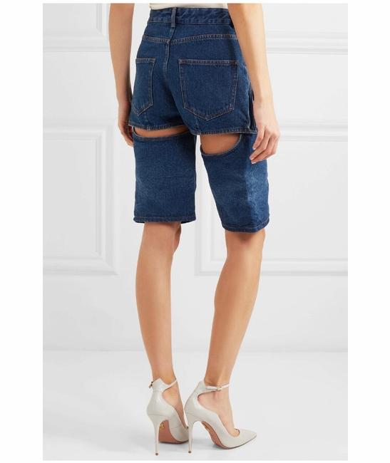 Y/Project Cut Off Shorts Blue Image 2