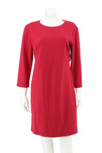 Old Navy short dress Red Cotton Long Sleeve T-shirt on Tradesy