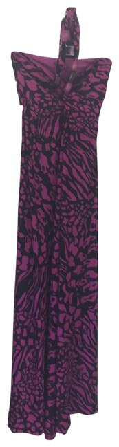 Item - Pink and Black Bra Top Long Casual Maxi Dress Size 6 (S)