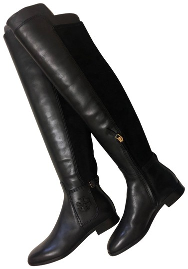 Tory Burch Over The Knee black Boots Image 1