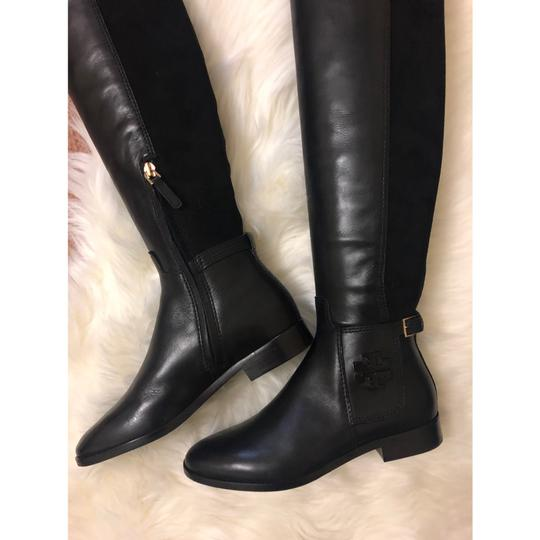 Tory Burch Over The Knee black Boots Image 2