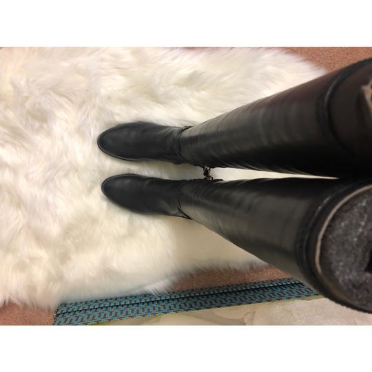 Tory Burch Over The Knee black Boots Image 3