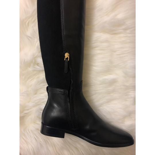 Tory Burch Over The Knee black Boots Image 5