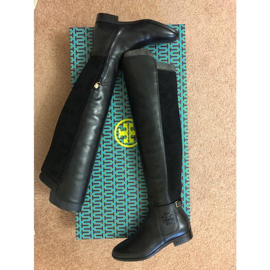 Tory Burch Over The Knee black Boots Image 9