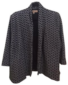 Nipon Boutique black and white Blazer