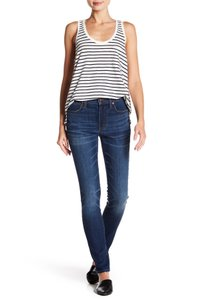 Madewell Fading Whiskering Skinny Jeans-Distressed