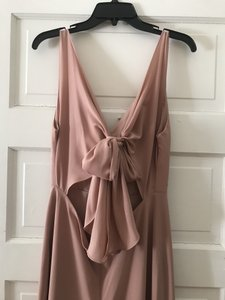 Jenny Yoo Whipped Apricot Delaney Formal Bridesmaid/Mob Dress Size 6 (S)