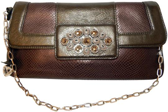 Preload https://img-static.tradesy.com/item/25689920/brighton-clutch-bronze-pewter-jeweled-flap-chain-multicolor-leather-shoulder-bag-0-1-540-540.jpg