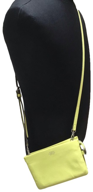 Vince Camuto Cami Apple Green Leather Cross Body Bag Vince Camuto Cami Apple Green Leather Cross Body Bag Image 1