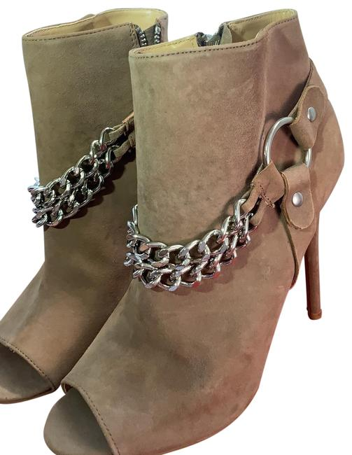 Charles Jourdan Tan Chain Ankle Boots/Booties Size US 8.5 Regular (M, B) Charles Jourdan Tan Chain Ankle Boots/Booties Size US 8.5 Regular (M, B) Image 1