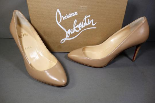 Christian Louboutin Beige or Nude Pumps Image 1
