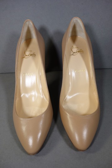 Christian Louboutin Beige or Nude Pumps Image 3