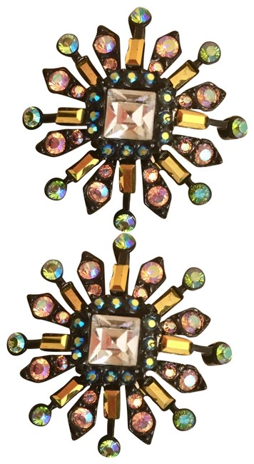 Item - Multi. They Are Signed Special Edition Swarovski Crystals Earrings