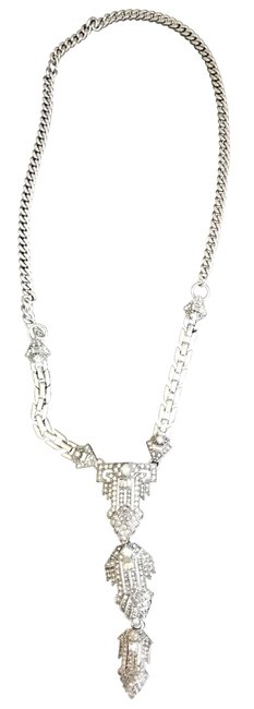 Stella & Dot Silver and Crystal Casablanca Pendant Necklace Stella & Dot Silver and Crystal Casablanca Pendant Necklace Image 1