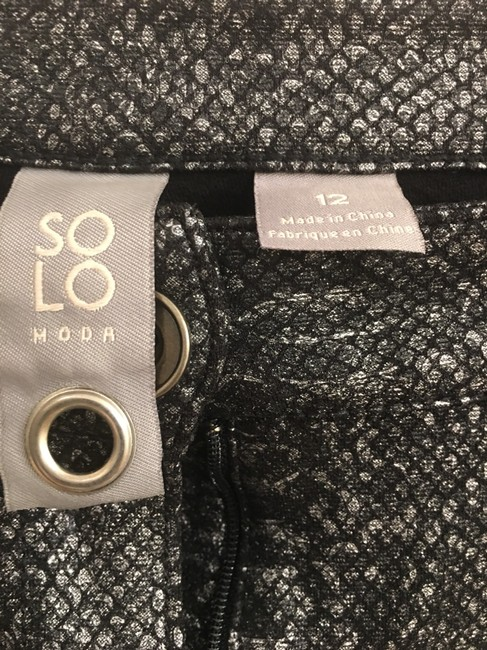 Solo Moda Relaxed Pants black / sliver Image 2
