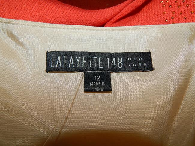 Lafayette 148 New York Shell Top Champagne Image 5