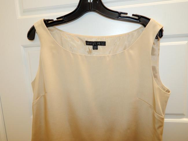 Lafayette 148 New York Shell Top Champagne Image 9