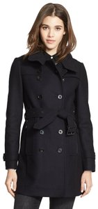 Burberry London New Leather Trench Coat