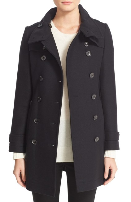 Burberry London New Leather Trench Coat Image 3