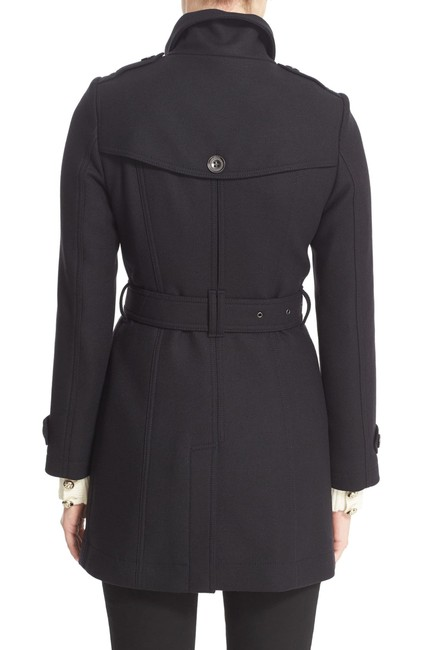 Burberry London New Leather Trench Coat Image 6