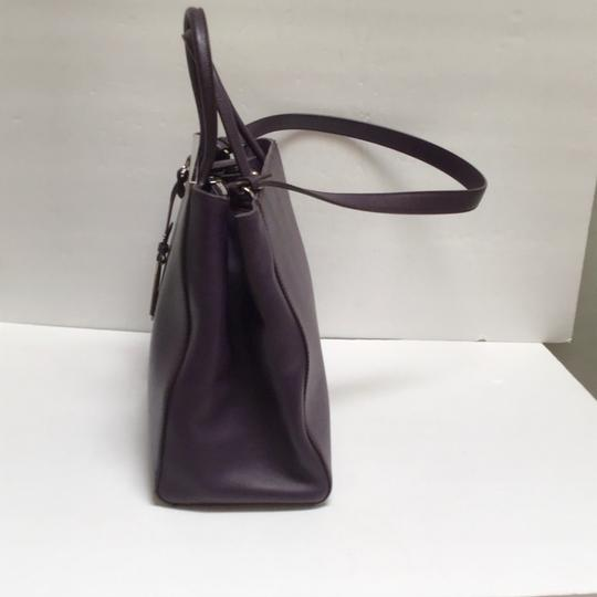 Fendi Satchel in Aubergine Image 1
