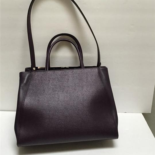 Fendi Satchel in Aubergine Image 3