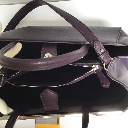 Fendi Satchel in Aubergine Image 4