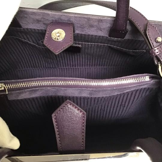 Fendi Satchel in Aubergine Image 5