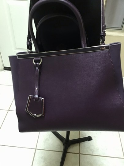 Fendi Satchel in Aubergine Image 6