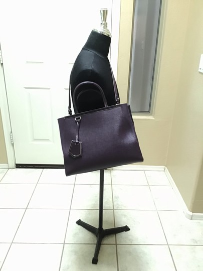 Fendi Satchel in Aubergine Image 8