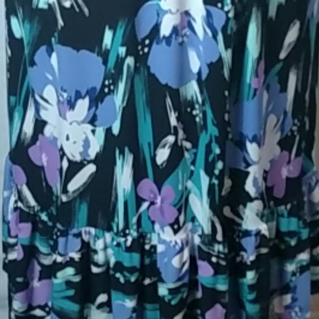 Purple Floral Maxi Dress by Tiana B. Image 3