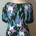 Purple Floral Maxi Dress by Tiana B. Image 8