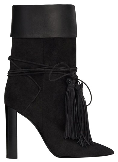 Preload https://img-static.tradesy.com/item/25690255/saint-laurent-black-tanger-tassle-bootsbooties-size-eu-375-approx-us-75-regular-m-b-0-4-540-540.jpg