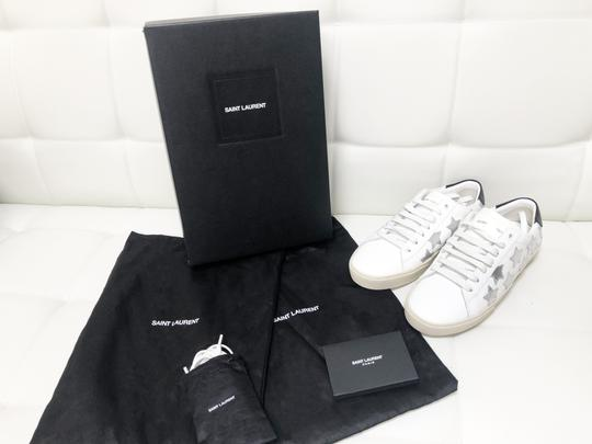 Saint Laurent Ysl Sneaker Classic Leather White Athletic Image 1
