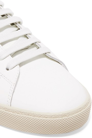 Saint Laurent Ysl Sneaker Classic Leather White Athletic Image 10