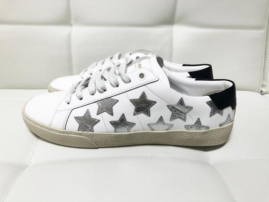 Saint Laurent Ysl Sneaker Classic Leather White Athletic Image 2