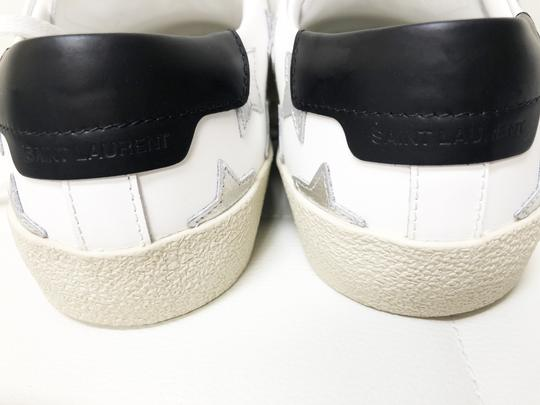 Saint Laurent Ysl Sneaker Classic Leather White Athletic Image 4