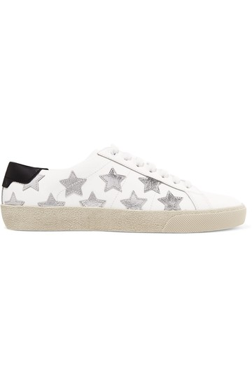 Preload https://img-static.tradesy.com/item/25690330/saint-laurent-white-court-classic-metallic-california-leather-sneakers-size-eu-41-approx-us-11-regul-0-0-540-540.jpg