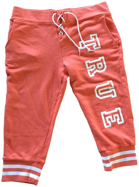 Preload https://img-static.tradesy.com/item/25690447/true-religion-orange-lace-up-joggers-capris-size-12-l-32-33-0-1-650-650.jpg